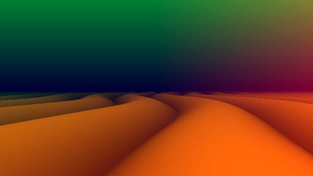 Psychedelic Sand Dunes